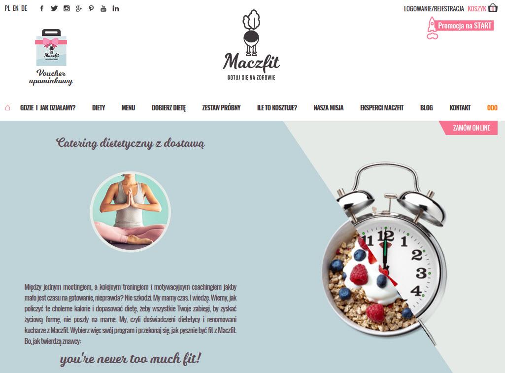 sklep internetowy catering dietetyczny